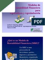 modelo de rentabilidad financiera (Conceptos)