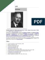 Friedrich Hayek - Milton Friedman - Ludwig Von Mises