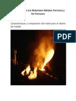 Introducción a Los Materiales Metales Ferrosos y No Ferrosos