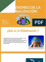Dimensiones de La Globalización