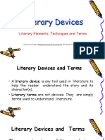 Literary Techniques Devices