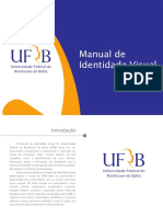 Manual de Identidade Visual Ufrb