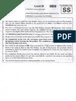 2018 NEET Question Paper Code SS
