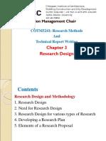 3. Research Design