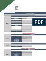 1. CFG Registro Formulario