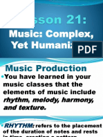 Contemporary Singers and Composers