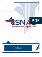 Tarif Export Fr 2016
