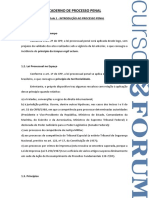 FORUM Caderno Processo Penal OAB