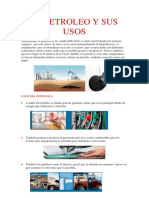 El Petroleo y Sus Usos