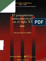 [Historias Americanas] Eduardo Devés Valdés - El Pensamiento Latinoamericano en el Siglo XX. Tomo II. Desde la Cepal al neoliberalismo (1950-1990) 2(2003, Editorial Biblos).pdf