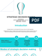 Strategic Decision Making_Final