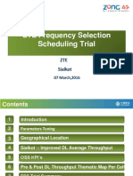 Frequency Selection Schedualing