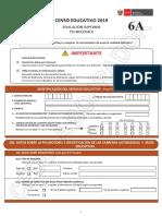 Cedula 6A Censo Educativo 2019