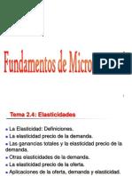 Tema 3- Elasticidades