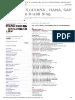 Nfe-grc , S_4hana , Hana, Sap Tdf Localização Brasil Blog_ Grc x Ecc ( Funções, Programas, Tabelas & Views Para Nfe)