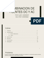 Combinacion de Fuentes Dc y Ac