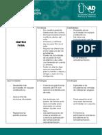 5. Matriz FODA practica pedagogica