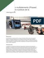 Ultrasonido Multielemento (Phased