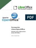 Apuntes.migraciones OpenO LibO