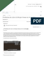 Ni Lineas. Lll Acelerador de Graficos Desactivar Actualizar Controlador Lll Solucionado_ Problema de Color Al Dibujar Lineas en El Modelo - Autodesk Community- International Forums