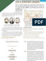 Franklin, Idaho - An Interactive History