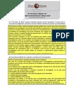 Principais Julgados de Direito Processual Penal 2018i