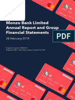 Monzo Annual Report 2019