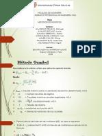 Metodo de gumbell, nash