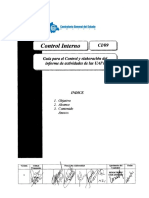 Control Interno y Elaboracion de Informes