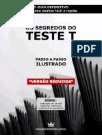Os Segredos Do Teste T: O Guia Definitivo (eBook Grátis)