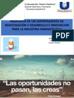 Presentacion Insvestigacion y Desarrollo Primera Parte