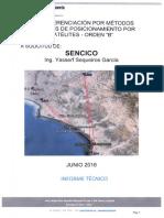 Certificación SENCICO