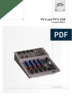 PV6 USB Mixer Manual