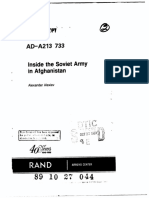Inside the Soviet Army in Afghanistan