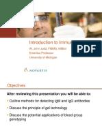 Slide Presentation - Introduction to Immunohematology.pdf
