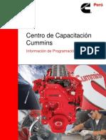 Curso-sistema-combustible PT-HPI en Motores Cummins