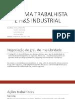 Reforma Trabalhista - Versão 1