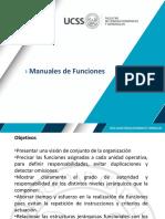 Manuales de Funciones