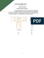 Ejercicios Uniones Madera CT 2018