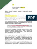 Derecho de Peticion Fotomultas Soat