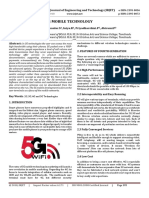 5G Mobile Technology Paper