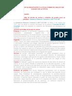 jurisprudencia actualizada sobre lavado de activos LEGIS.PE