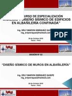 4. Albañilería - Sesión 02