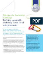 Deloitte Uk Abouti Social Leadership Challenge