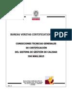Condiciones Generales y Proceso de La ISO 9001