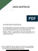 MÉTODOS-GEOFÍSICOS