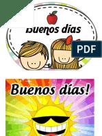 Saludo Buenos Dias