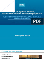 Palestra Novo Licenciamento Sanitário - Conteúdo Da Palestra Realizada Em 07.Mai.2018