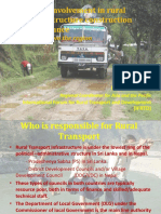 Social Mobilization in Road