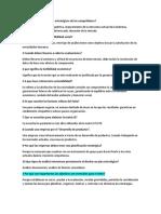 reactivos de planificación estratégica y proyectos